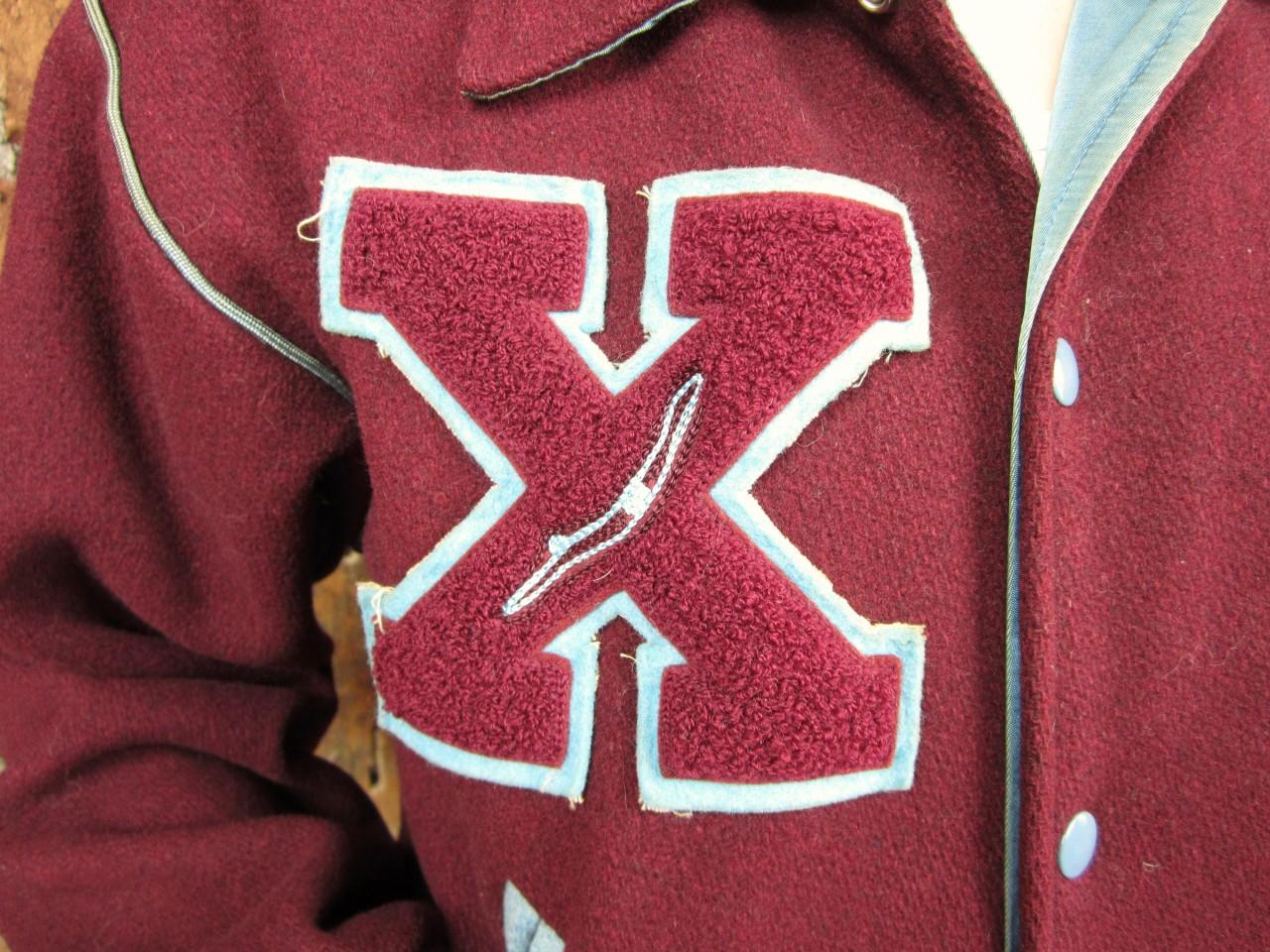 Xavier Varsity Jacket On Ebay Straightedge Swimming All